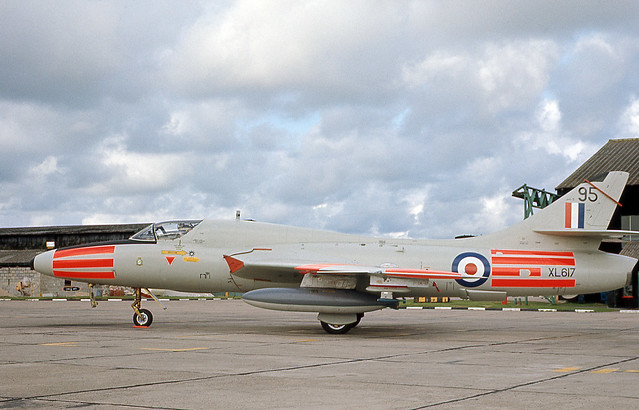 XL617, Hawker Hunter T.7, Chivenor, 22-08-1969