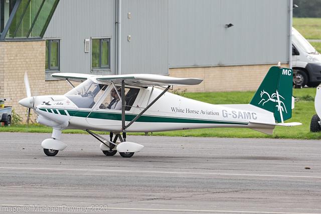 G-SAMC - 2012 build Comco Ikarus C42 FB80 Bravo, visiting Gloucester