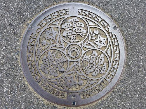 Matsuo Chiba, manhole cover (千葉県松尾町のマンホール)