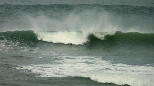 La playa de Arrigúnaga y el Molino de Aixerrota