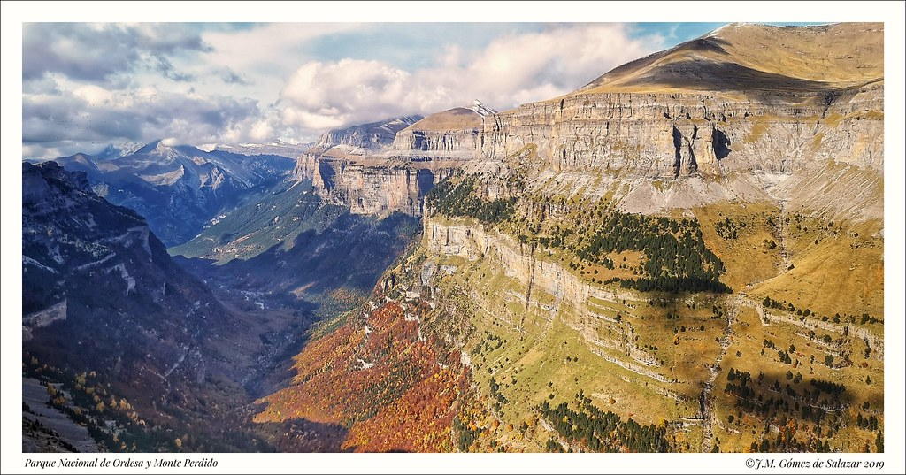 Otoño en el Parque Nacional de Ordesa y Monte Perdido