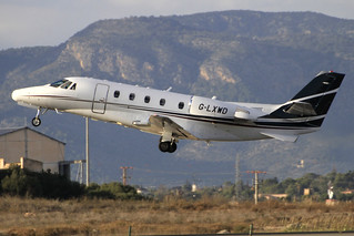 G-LXWD. C-560 Citation. Catreus Ltd. PMI.