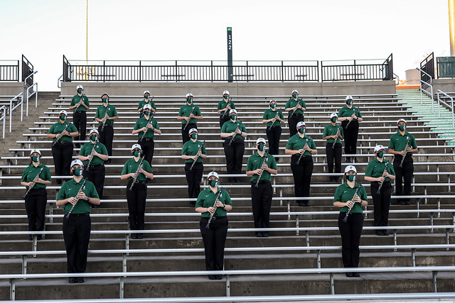 2020 UNCC Band Photos