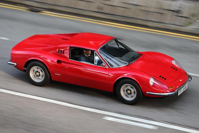 Ferrari, Dino GT, Wan Chai, Hong Kong
