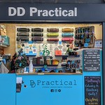 DD Practical. New stall at the Box Market in Preston