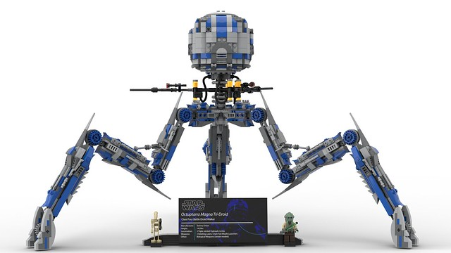 Custom LEGO UCS Octuptarra Droid