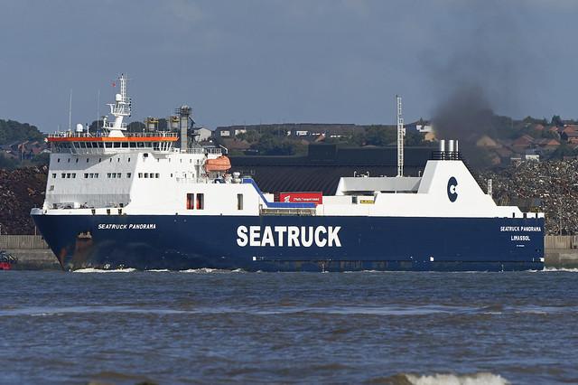 Seatruck Panorama -.- New Brighton -.- 26-08-20