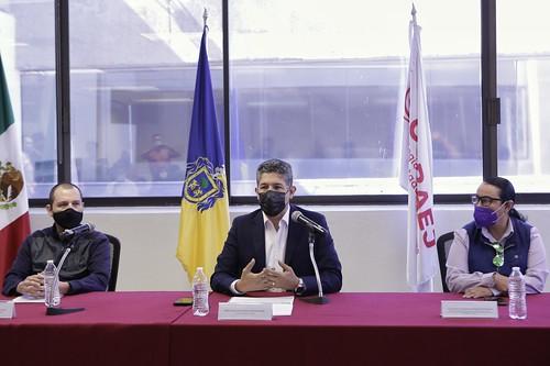 26 Nov 2020 . Secretaría de Educación Jalisco . Conferencia de prensa para anunciar incumplimiento de la federación en pagos a (COBAEJ).