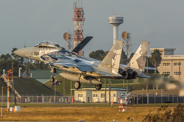 52-8088, McDonnell Douglas F-15DJ Japan Air Self Defence Forces @ Nyutabaru RJFN