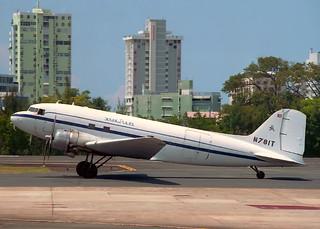 N781T Douglas DC-3C (R4D-1) Tol Air Servicess