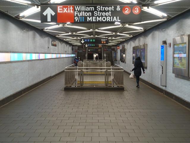202010151 New York City subway station 'Fulton Street'