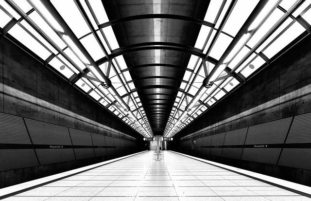 München; U-Bahnhof Messestadt-Ost