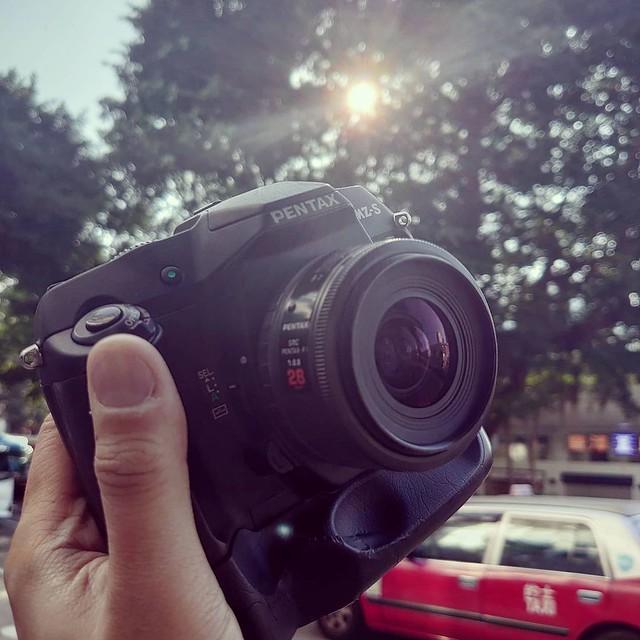 Pentax F 28mm f2.8 賓得F時代七枚玉