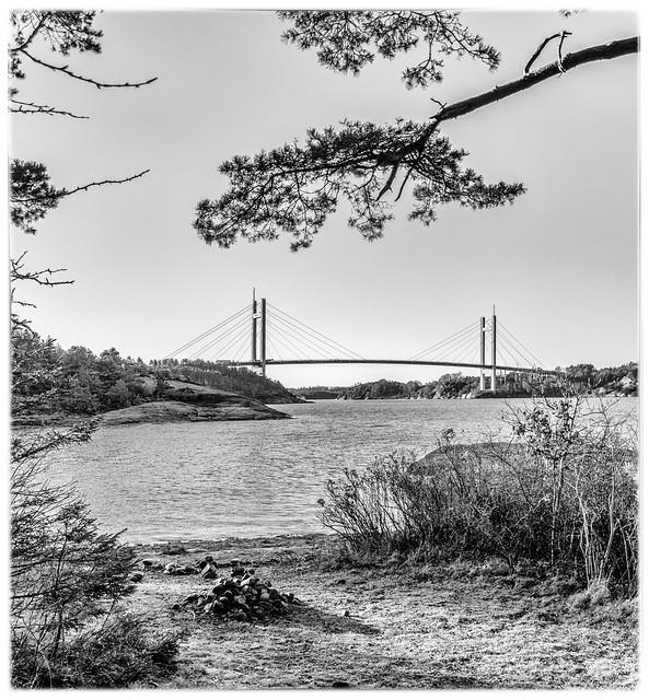 Tjörn Bridge - view from Stenungsön