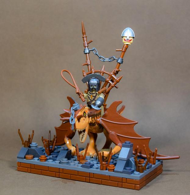 Horde Faction Hero: Orc Warchief, Wyvern Hatchling Mount.