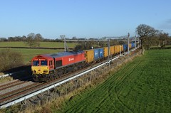 66152 at Acton Turville on 26th Nov 20'