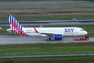 SX-IOG Airbus A320-251N Sky Express s/n 10083 * Toulouse Blagnac *