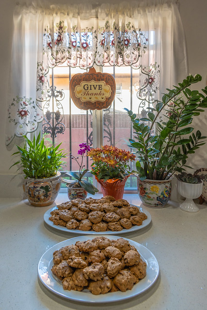 Mom's Persimmon Cookies for Thanksgiving