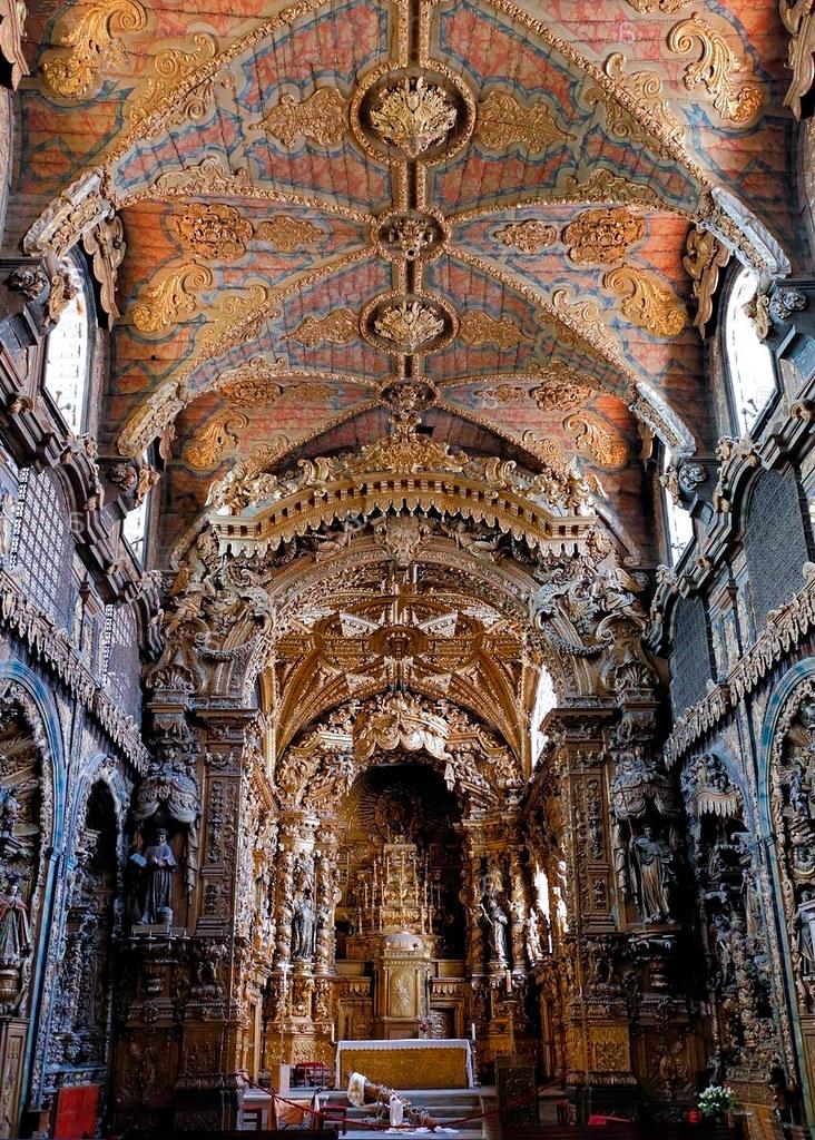 Iglesia de Santa Clara en Oporto