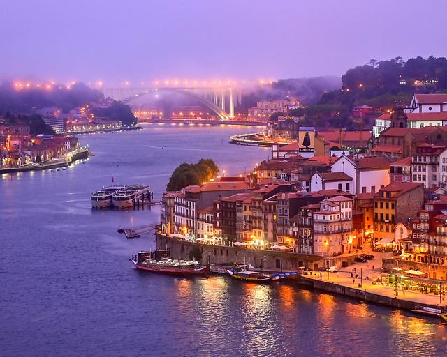 Mirador del Puente de Don Luis I, una de las vistas más bonitas de Oporto