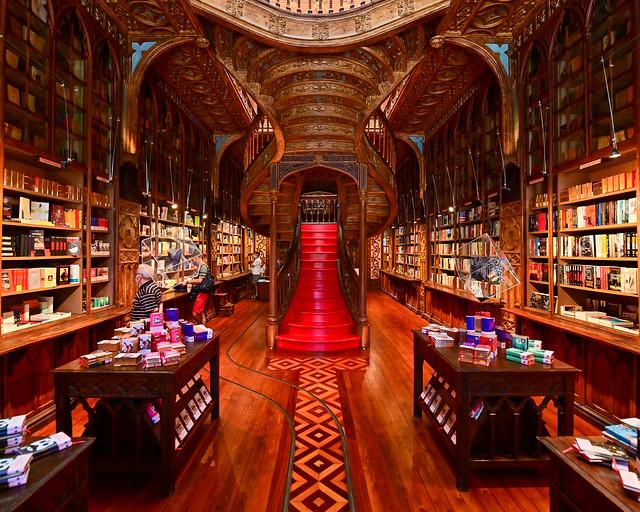 Librería Lello de Oporto