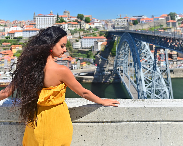 Uno de los miradores más bonitos de Oporto