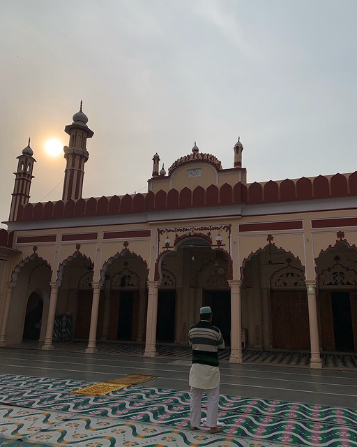 City Moment - Winter Sunset, Jama Masjid, Gurgaon