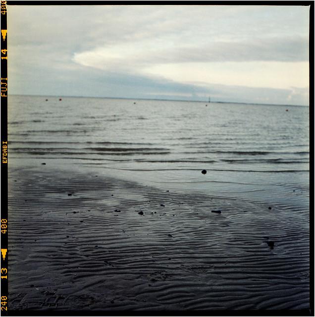 das Meer läuft aus