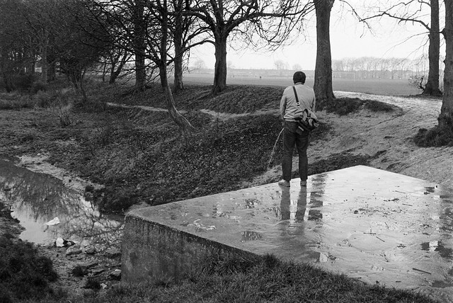 The Source of the River Lea, Leagrave, Luton, Beds, 1982 33d-56_2400