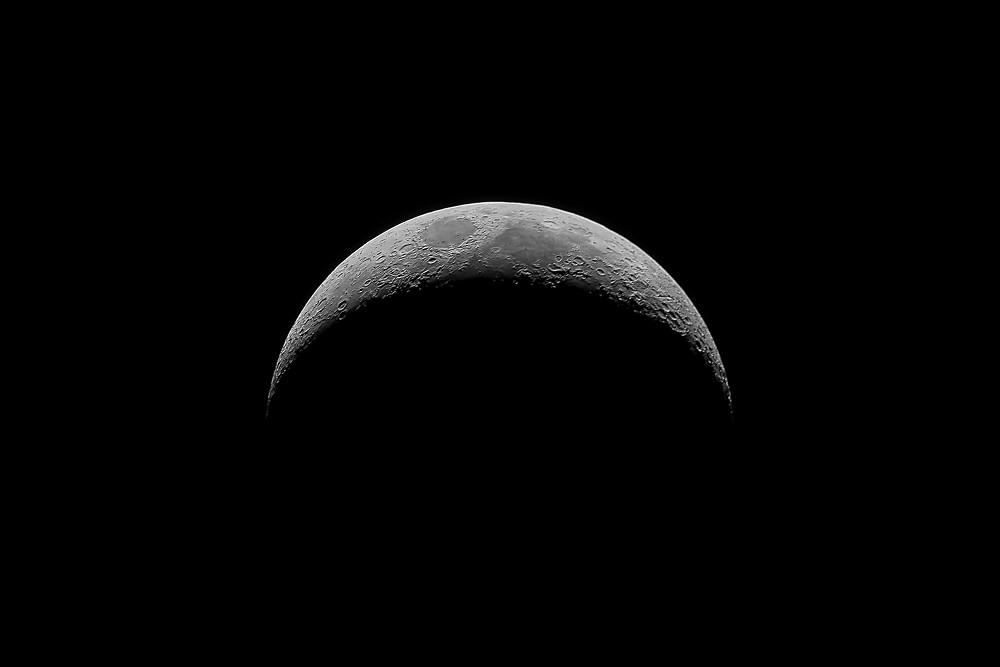 Moon first quarter - Premier quartier de Lune