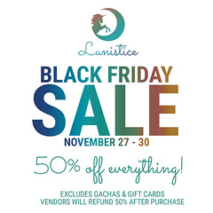 Black Friday at Lunistice!