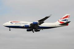 G-CIVD Boeing 747-436 British Airways