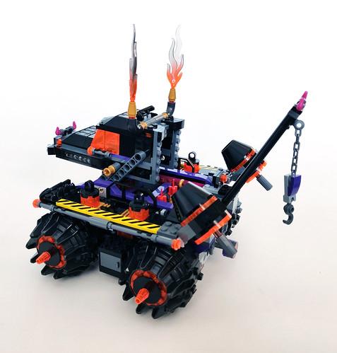 LEGO Monkie Kid Red Son's Inferno Truck (80011)