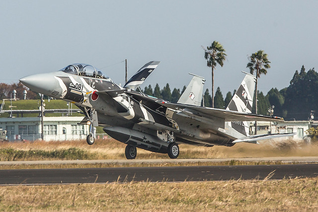 32-8081, McDonnell Douglas F-15DJ Japan Air Self Defence Forces @ Nyutabaru RJFN