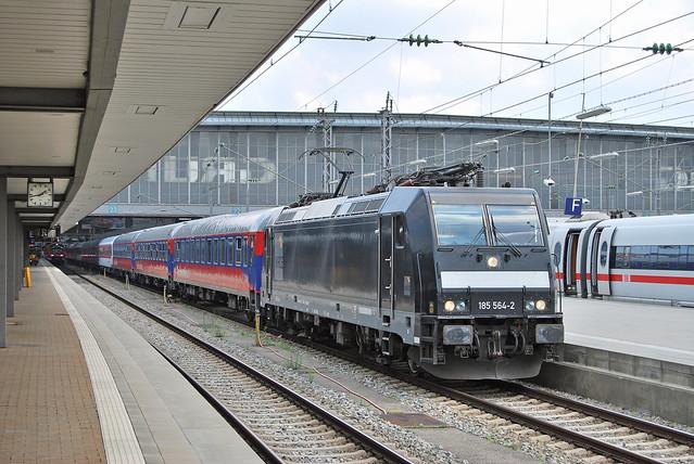 185 564-2 München Hbf 1 08.06.18