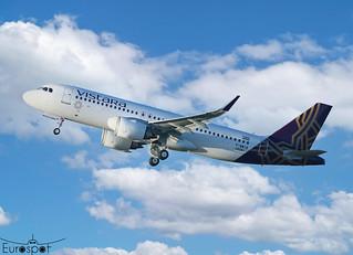 F-WWIB / VT-TQB Airbus A320-251N Vistara s/n 10261 * Toulouse Blagnac 2020 *