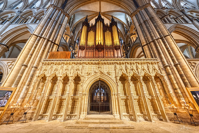 The Choir Screen, Lincoln Cathedral