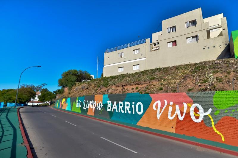 Barrio Providencia tiene su gran mural sobre Avenida Costanera (5)