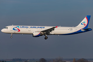 Ural Airlines - Airbus A321-211 - MSN 4728 - VP-BIH