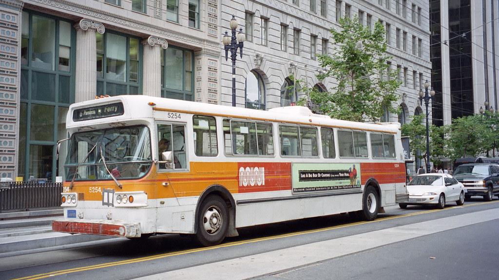 1998-07 San Francisco Trolleybus Nr.5254