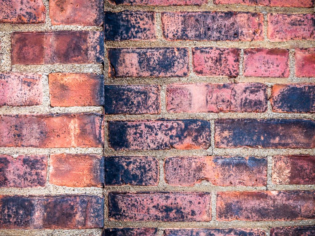 bricks in the wal