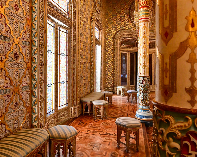 Salón árabe del Palacio de la Bolsa