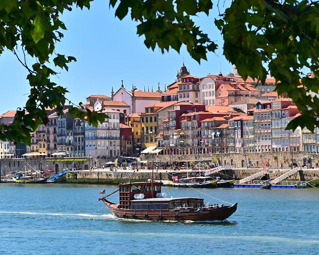 Excursión en barco por el rio Duero