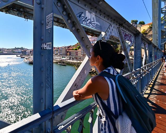 Parte baja del Puente Don Luis I