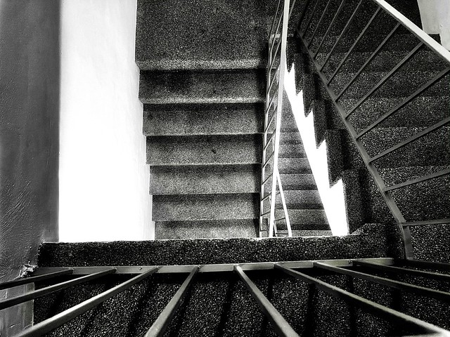 Amateur Shot II - The Chattahoochee Stairwell