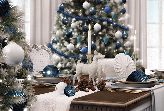Gallant Magazine - Blue Christmas