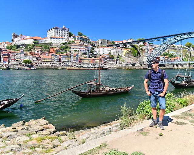 Mirador de Vila Nova de Gaia, uno de los mejores miradores de Oporto
