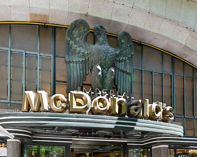 Café Imperial de Oporto donde está el McDonalds