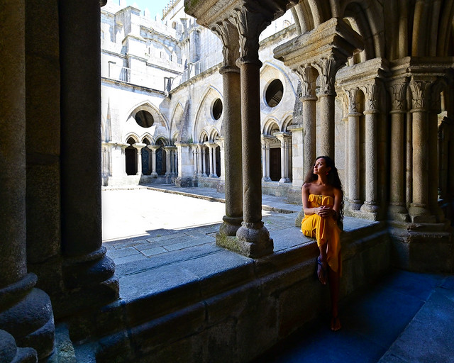Claustro de la Catedral de Oporto
