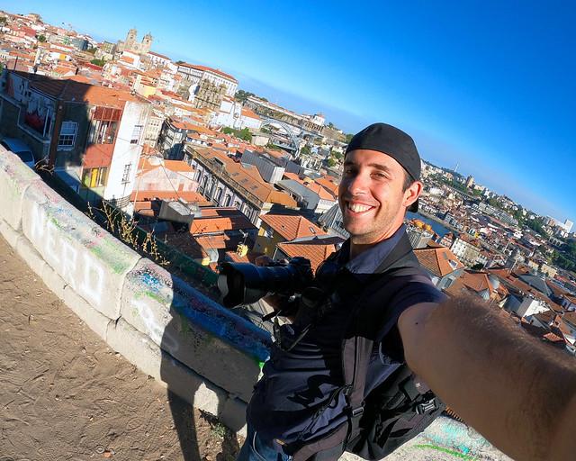 Mirador da Vitoria en Oporto
